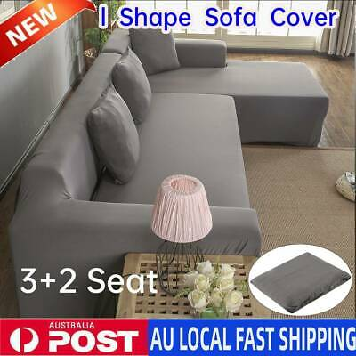 AU48.87 • Buy 2+ 3 Seater Stretch Sofa Couch Lounge L Shape Cover Washable Slipcover Protector