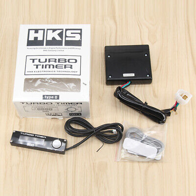 $25.86 • Buy New HKS Digital Type 0 Turbo Timer Universal With LED Display With Logo Black