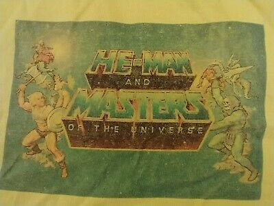$15 • Buy He-Man MASTERS OF THE UNIVERSE Group T-Shirt Sz Medium