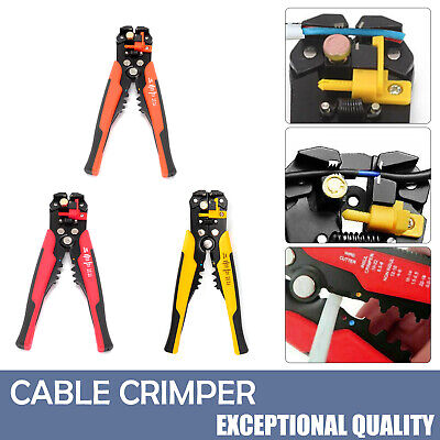 £7.19 • Buy Automatic Cable Wire Crimper Crimping Tool Stripper Self Adjustable Plier Cutter