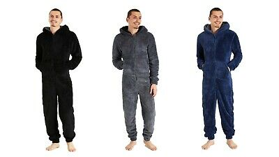 £23.94 • Buy CityComfort Fluffy Fleece All In One Pyjama With Hoodie And Pockets For Men
