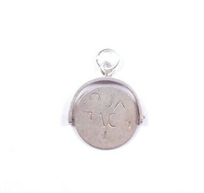 Vintage Silver Spinning Charm I Love You Spinner 925 Sterling 1.2grams  • 19.99£