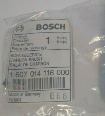 £5.25 • Buy Genuine Bosch CARBON BRUSHES 1607014116000