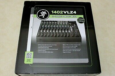 $409.99 • Buy Brand New Mackie 1402VLZ4 14-Channel Pro Audio Compact Mixer Sealed Box
