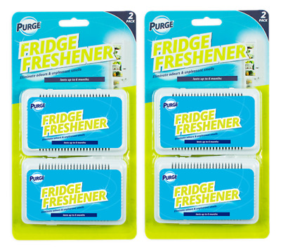 Fridge Freshener Scent Fresh Air Deodoriser Eliminator Odour Neutraliser Kitchen • 3.95£