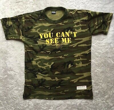 WWE John Cena  You Cant See Me  T-Shirt Size L • 20£