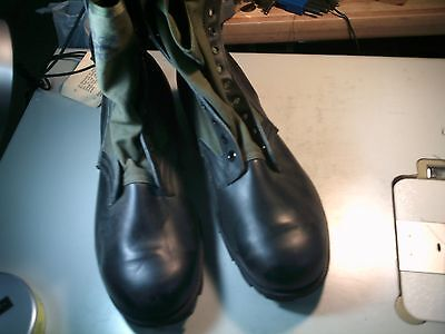 $39.95 • Buy  JUNGLE BOOTS SPIKE PROTECT SZ 13 1/2 Xn VIETNAM Style/ERA 1988 MILITARY ISSUED