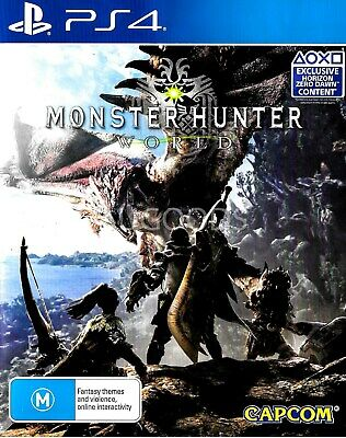 AU29.85 • Buy Monster Hunter World PS4 Playstation 4 Game - Disc Like New