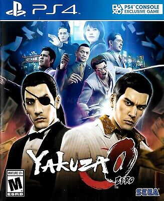 AU41.95 • Buy YAKUZA ZERO PS4 Playstation 4 Game - Disc Like New