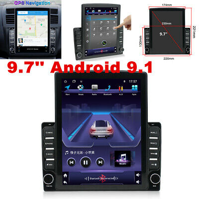 $170.90 • Buy 9.7'' Android 9.1 Quad-core Car Stereo GPS Navigation Radio Player 2Din WIFI