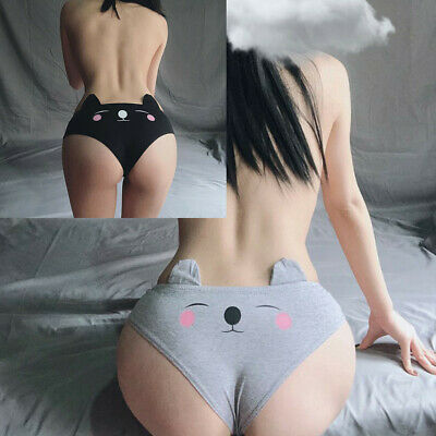 Sexy Cute Cat Lingerie G-string Underwear Briefs Panties T String Knickers Gifts • 2.29£