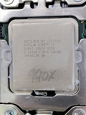 $ CDN237.80 • Buy Intel Core I7-990X Extreme Edition LGA1366 3.46GHz 6Core 12M SLBVZ CPU - Tested