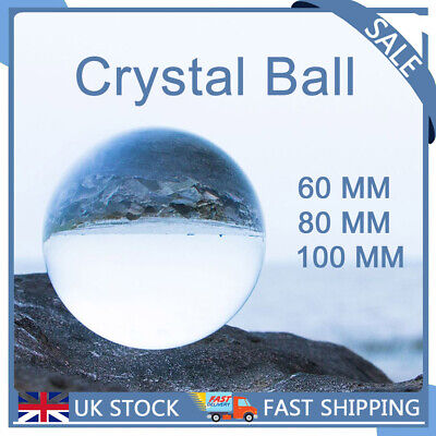 £8.80 • Buy Crystal Ball Clear Photography Glass Lens Sphere Ball Photo Decorate 60/80/100mm
