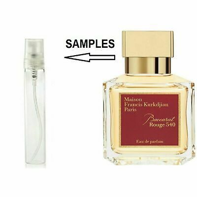 Baccarat Rouge 540 By Maison Francis Kurkdjian EDP 5ml Travel Pack, Sample • 5.99£
