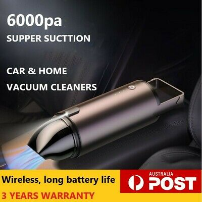 AU56.81 • Buy Car And Home Vacuum Cleaner Ultra Portable Mini Cordless Handheld Rechargeable