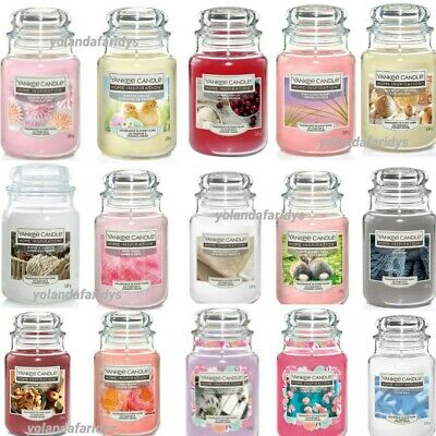 Yankee Candle Scented Fragrance Candles Large Jar 538g  **FREE DELIVERY** • 13.99£