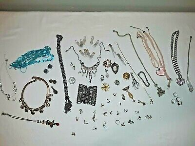 $ CDN80.42 • Buy Vintage To Modern Costume Jewelry Renaissance Lots W/ Crystals 40's-present