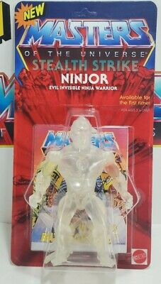 $195 • Buy MOTU Custom Ninjor Clear Cast Action Figure New Carded Masters Of The Universe