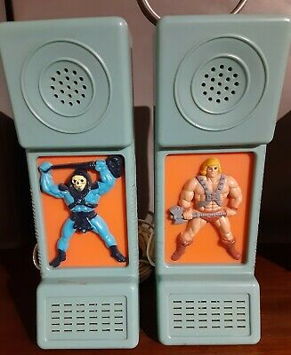 $75 • Buy Masters Of The Universe Intercom Phone System Heman Skeletor Motu Walkie Talkie