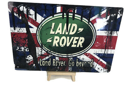 Land Rover Rover Tin Metal Sign Plaque Bar Pub Vintage Retro Club Tavern #LARGE • 8£