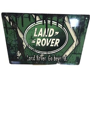 Land Rover Land Rover Metal Sign Plaque Bar Pub  Club Tavern #LARGE • 7.37£