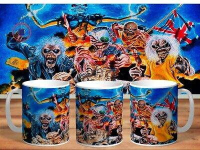 IRON MAIDEN 11oz MUGS - VARIOUS DESIGNS - PERFECT GIFT -38 • 7.60£