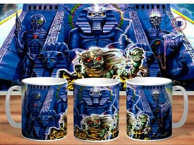 IRON MAIDEN 11oz MUGS - VARIOUS DESIGNS - PERFECT GIFT -6 • 7.60£