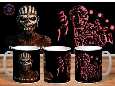 IRON MAIDEN 11oz MUGS - VARIOUS DESIGNS - PERFECT GIFT -35 • 7.60£
