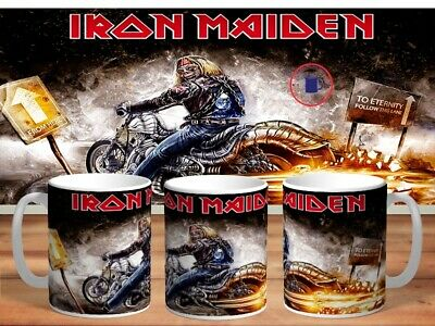 IRON MAIDEN 11oz MUGS - VARIOUS DESIGNS - PERFECT GIFT -9 • 7.60£