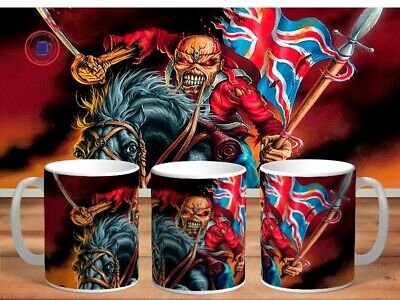 IRON MAIDEN 11oz MUGS - VARIOUS DESIGNS - PERFECT GIFT -12 • 7.62£