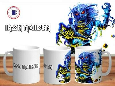 IRON MAIDEN 11oz MUGS - VARIOUS DESIGNS - PERFECT GIFT -33 • 7.60£