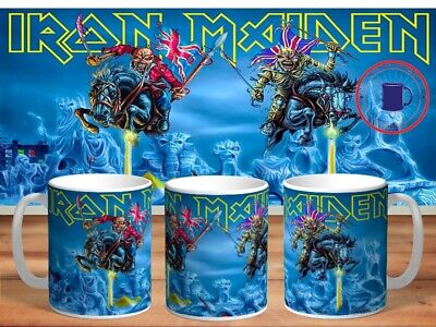 IRON MAIDEN 11oz MUGS - VARIOUS DESIGNS - PERFECT GIFT -10 • 7.60£