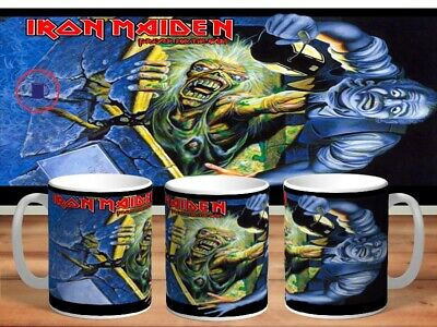 IRON MAIDEN 11oz MUGS - VARIOUS DESIGNS - PERFECT GIFT -17 • 7.60£