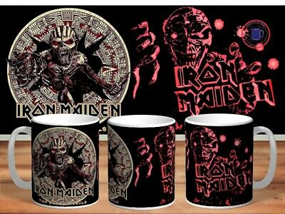 IRON MAIDEN 11oz MUGS - VARIOUS DESIGNS - PERFECT GIFT -11 • 7.60£