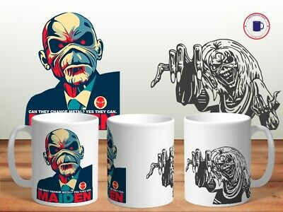 IRON MAIDEN 11oz MUGS - VARIOUS DESIGNS - PERFECT GIFT -28 • 7.60£