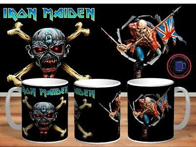 IRON MAIDEN 11oz MUGS - VARIOUS DESIGNS - PERFECT GIFT -18 • 7.60£
