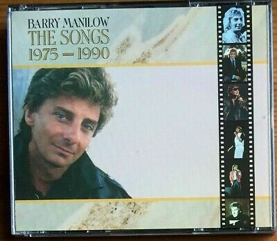 Barry Manilow The Songs 1975-1990 2cd Fat Box Greatest Hits Best Of 1990 Arista • 6.99£