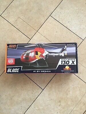 E-Flite Blade Red Bull BO-105 CB 130 X With AS3X • 99.99£