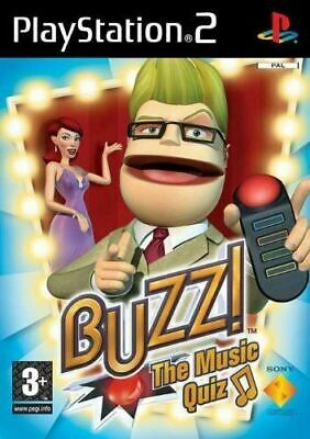 Buzz! The Music Quiz - PS2 (Requires Buzzers NOT Included) • 3.99£