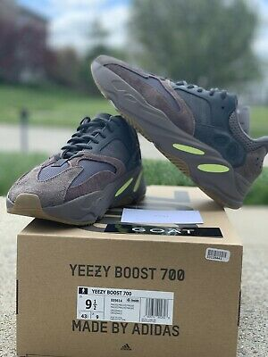 $ CDN521.55 • Buy Yeezy Boost 700 Mauve Size 9.5IS Wave Runner 100% Authentic Adidas W/box