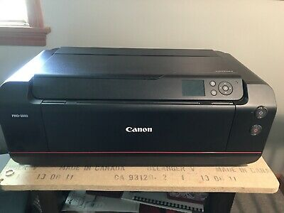 View Details Canon PRO-1000 Photographic Inkjet Printer • 500.00$