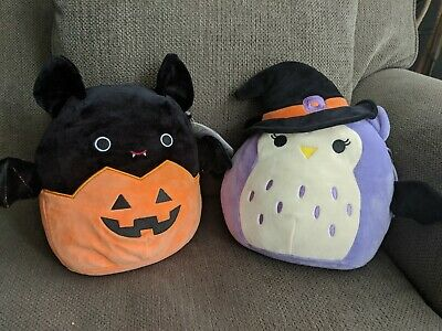 $ CDN60 • Buy Squishmallows 8  Inch Halloween Bundle Lot Set Holly Emily Bat Witch Costume NEW