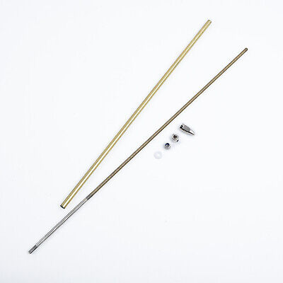 £15.21 • Buy NEW! 4mm Flex Shaft Cable Drive Dog Prop Nut And Brass Tube For Rc Boat Durable