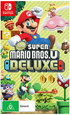 AU79.90 • Buy New Super Mario Bros. U Deluxe  - Other Game - BRAND NEW