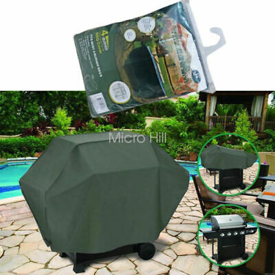 AU14.99 • Buy BBQ Waterproof  Cover 4 Burner Outdoor UV Charcoal Barbecue Grill Protector