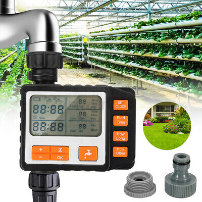 Automatic  Water Timer Irrigation Hose Watering Garden Plant System  • 26.73£