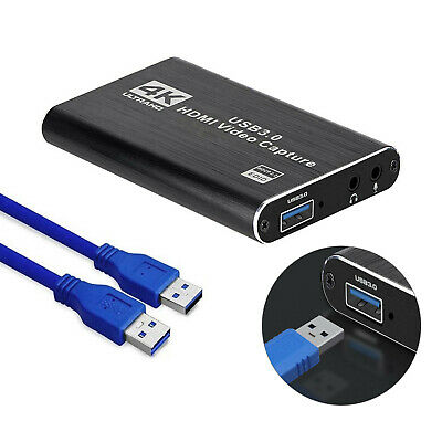 4K HDMI Capture Video Card USB 3.0 1080P Reliable Capture Game Card Recording • 30.49£
