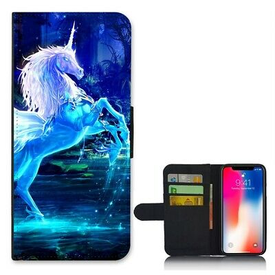 AU15.95 • Buy Personalised Phone Case Wallet Cover For Apple IPhone - Pretty Marble + Name