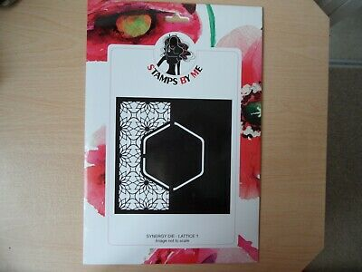 Stamps By Me Synergy Die   Lattice No 1  • 10.99£