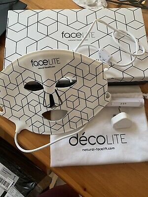Rio FaceLITE Beauty Boosting LED Face Mask Excellent Condition RRP £350 • 220£